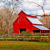 Red Barn at Rutledge Falls